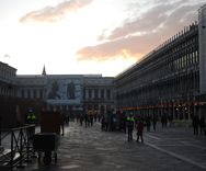 Sunset in St. Mark's Square